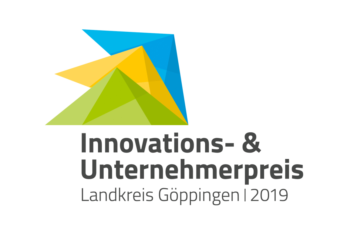 We have won it: the Innovation Award 2019 of the district of Göppingen.